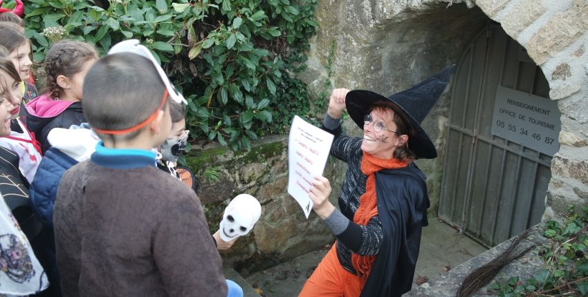 chasse aux monstres Limoges Haloween
